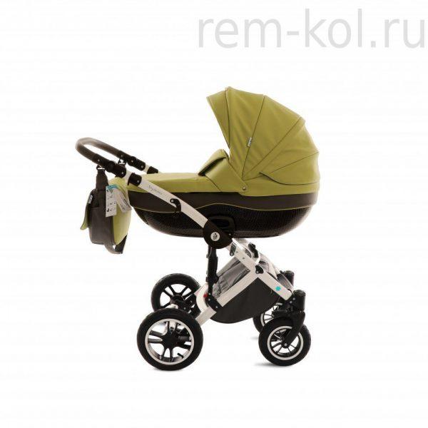 Детская коляска Noordline Stephania Eco 2 в 1 Зеленый/Серый