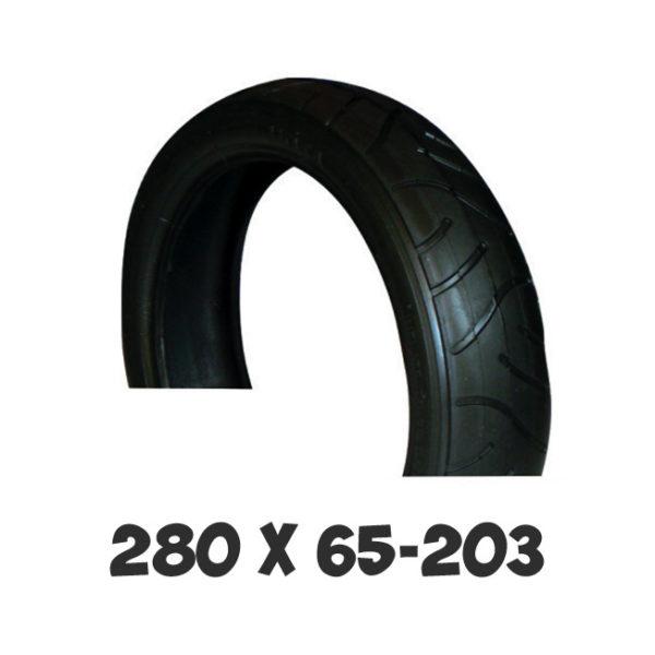 Покрышка Adamex 280х65-203 для детской коляски
