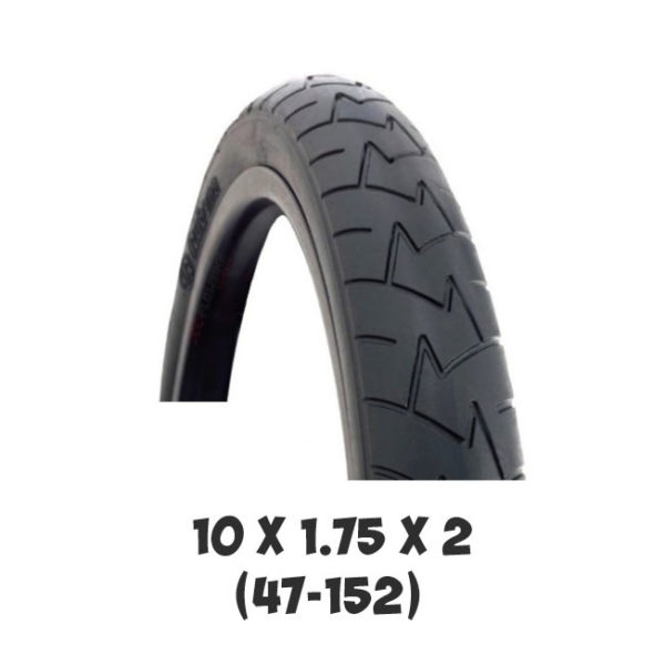 Покрышка Adamex 10x1.75x2 (47-152) для детской коляски