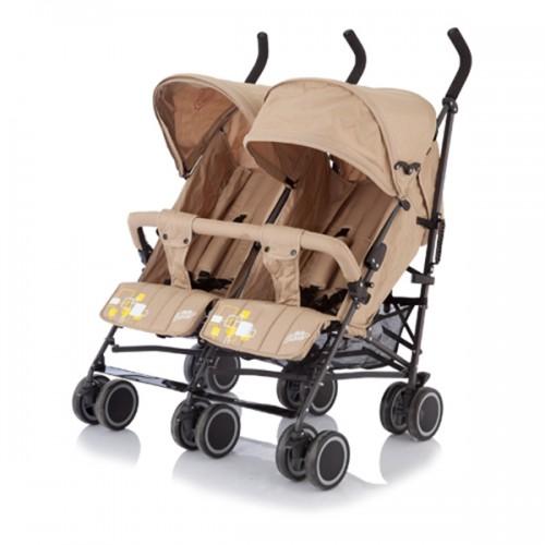 Коляска-трость для близнецов Baby Care City Twin