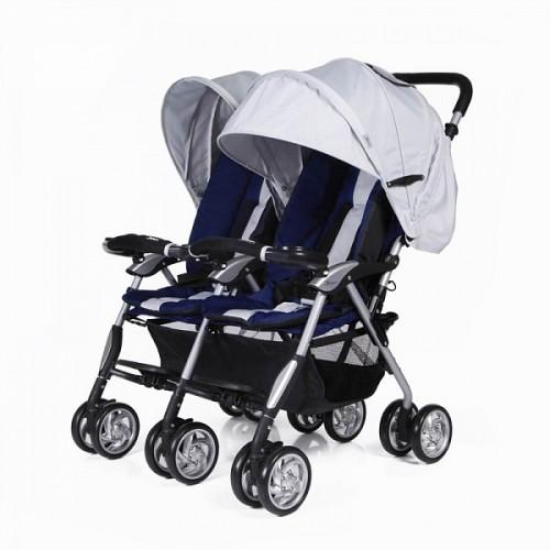Прогулочная коляска для двойни Jetem Elegant Twin